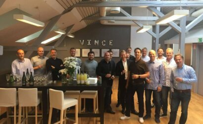 Vince employees at Vince Office